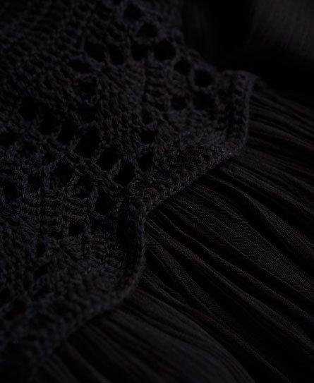 Superdry Robe longue en crochet Isla