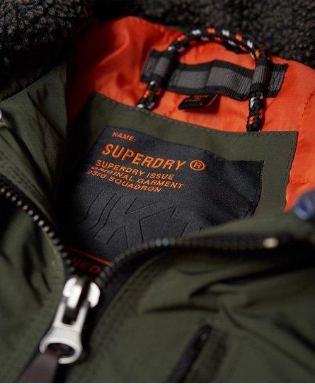 Superdry Wax Flight Borg Bomber Jacket