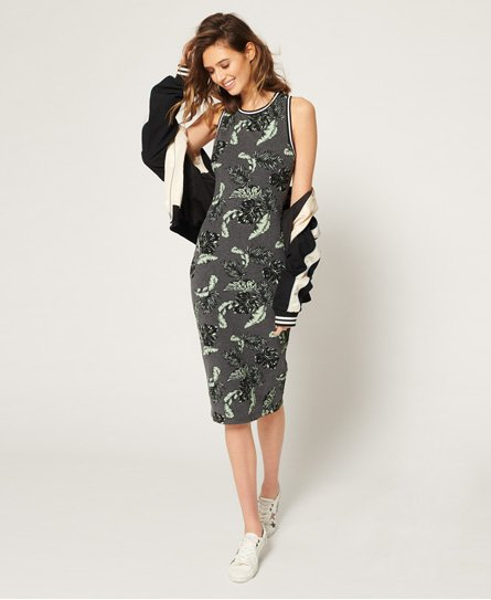 Superdry Beach Leaf Midi Dress