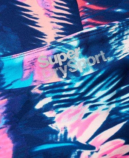 Superdry Sport Essentials Leggings mit hohem Bund