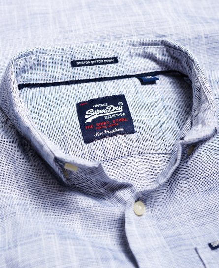 Superdry Langærmet Boston skjorte med button down-krave