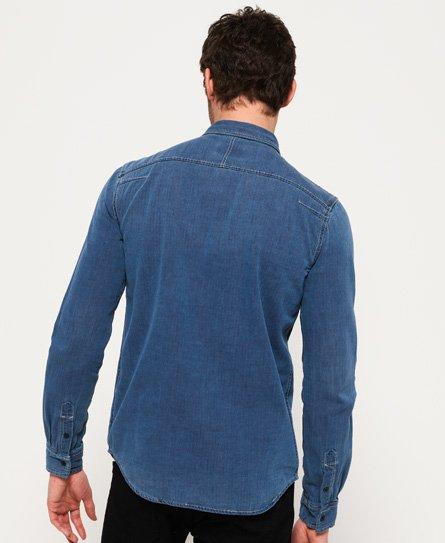Superdry Dragway Denim Shirt