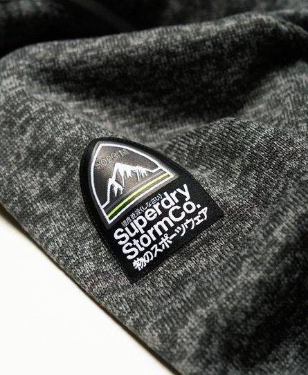 Superdry Storm huvtröja med dubbla dragkedjor