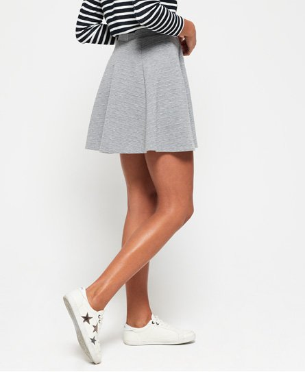 Superdry Wave Textured Skater Skirt
