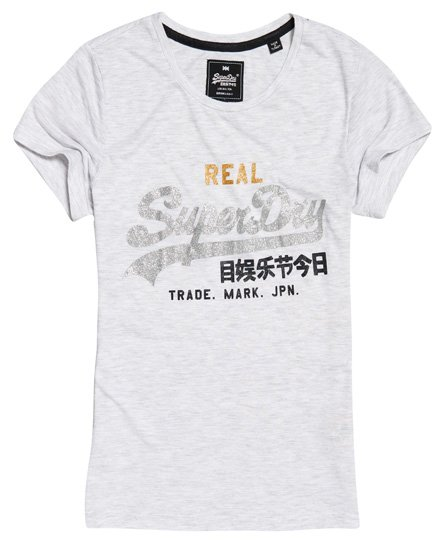 Superdry T-shirt con logo Tri Vintage