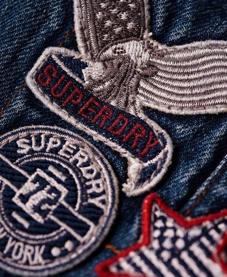 Superdry Jodie Boyfriend tuinbroek