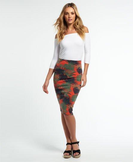 Superdry Pop Print Pencil Skirt