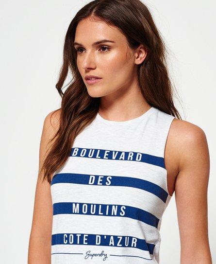 Superdry Mariner Stripe midi-jurk