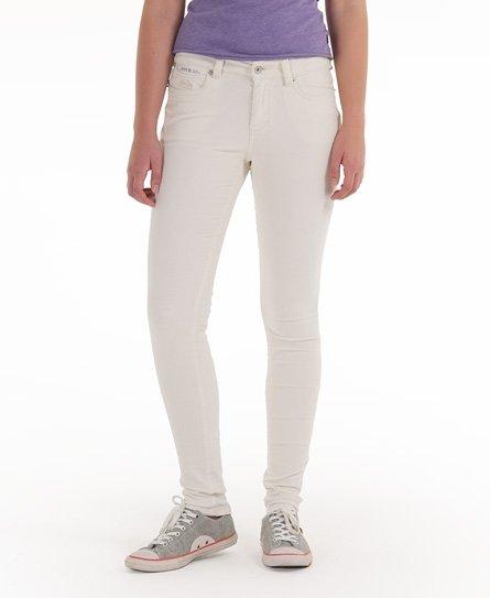 Superdry Super Skinny Cords Damen Jeans