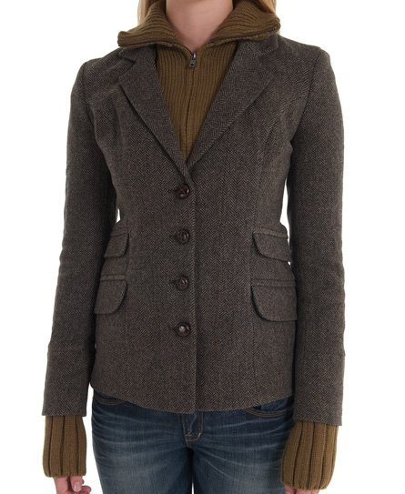 Superdry Hacking Knit Blazer Damen Jacken & Mäntel