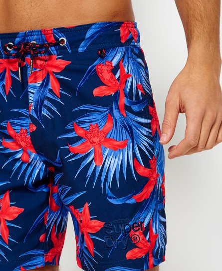 Superdry Vacation Paradise-svømmeshorts