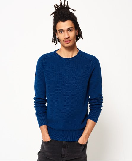 Superdry Maglione girocollo Garment Dye L.A. Textured