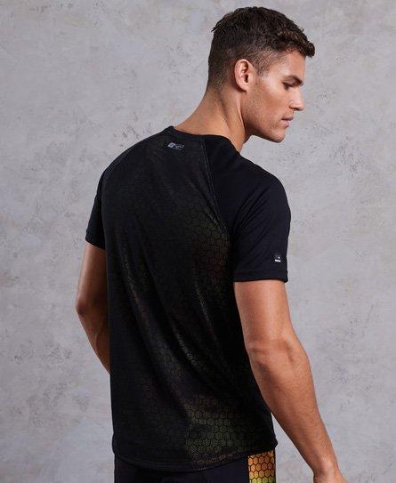 Superdry T-shirt Training imprimé sur l'ensemble