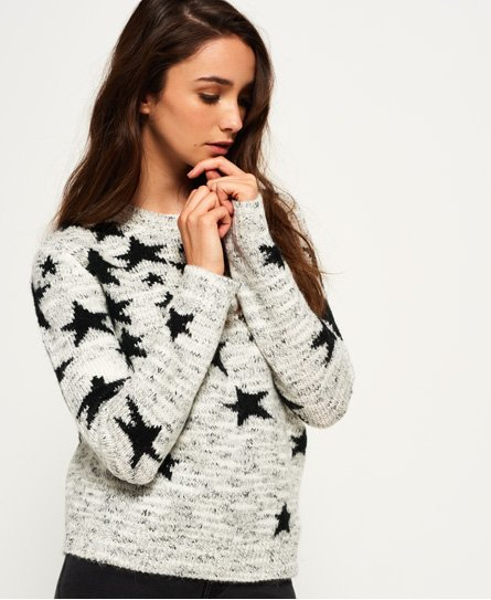 Superdry Ombre Star Jacquard Knit Jumper