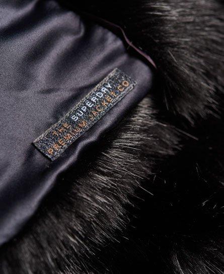 Superdry Gilet Luxe in pelliccia sintetica