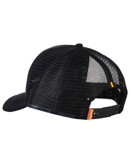 e28675a1274c8 Mens - Surplus Goods Trucker Cap in Black