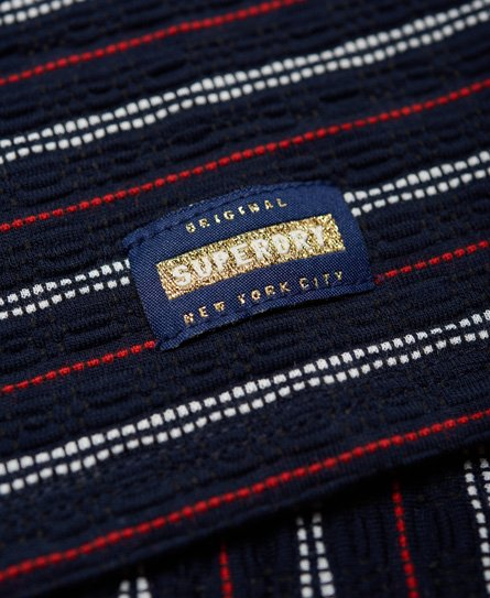 Superdry Strukturiertes Pacific T-Shirt-Kleid