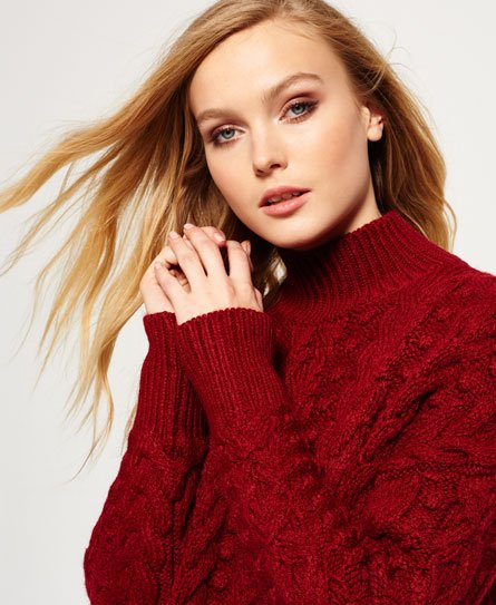 Superdry Kiki Cable Knit Jumper