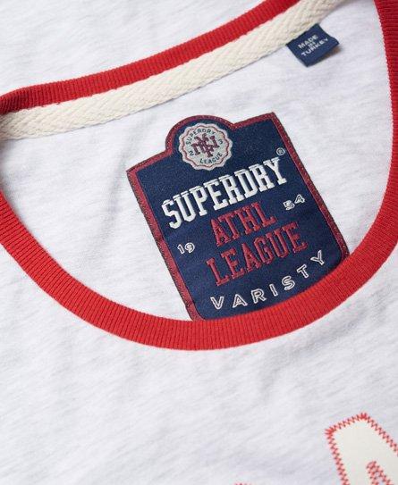 Superdry Osaka 6 Ringer T shirt Damer T shirts