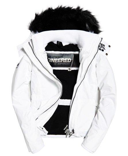 Superdry Veste à capuche en fourrure à doublure sherpa SD-Wind Attacker