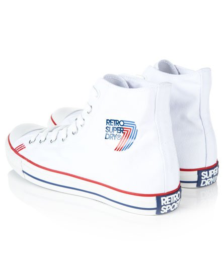Superdry Retro Sport High Top Trainers