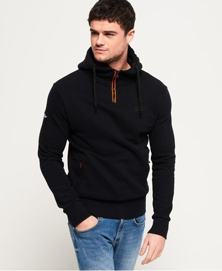 Superdry Orange Label Urban Flash Half Zip Hoodie