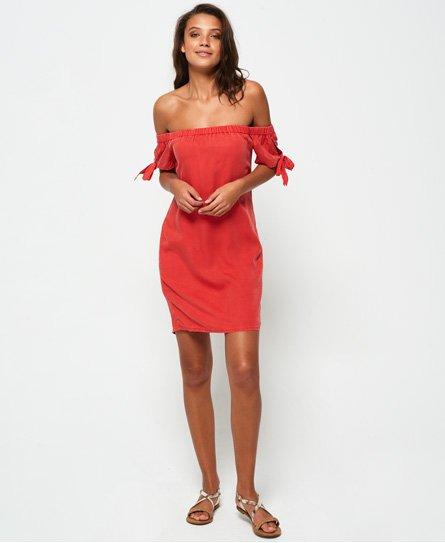 Superdry Alexia Off Shoulder Dress