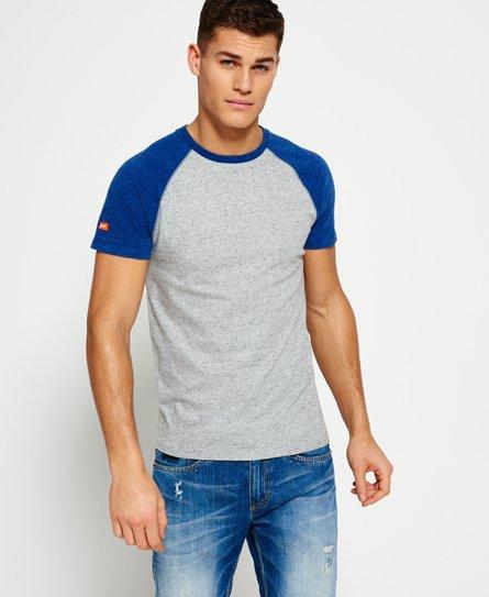 73cd088b3b26d Superdry Camiseta beisbolera Orange Label - Camisetas para Hombre