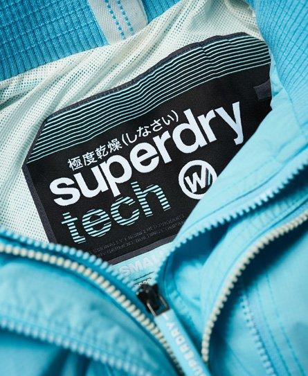Superdry Pop Zip SD-Windcheater teknisk vindjacka med huva