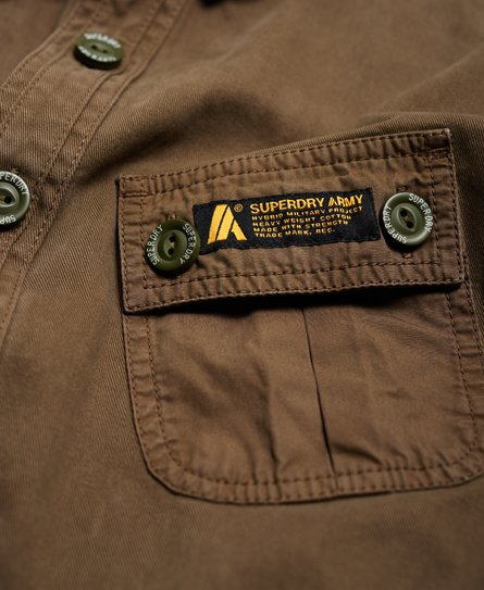 Superdry Hybrid Army Corps Light Shirt