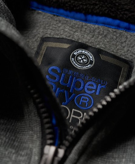 Superdry Storm Double Zip Hoodie