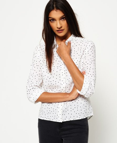 Superdry Elena overhemd met print