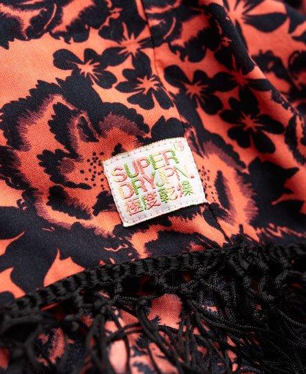Superdry Robe de plage à franges Ibiza