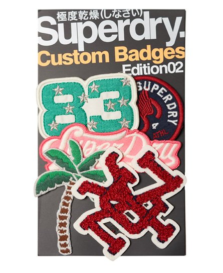 Superdry Custom Woven Badge Pack