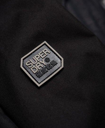 Neue Herren Superdry Arctic Cliff Hiker Hybrid Kapuzenjacke Khaki Meliert