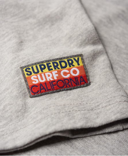 Superdry Surf Co Stripe Raglan T-Shirt