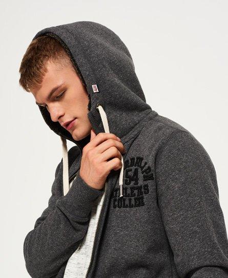 Superdry Applique Zip Through Hoodie