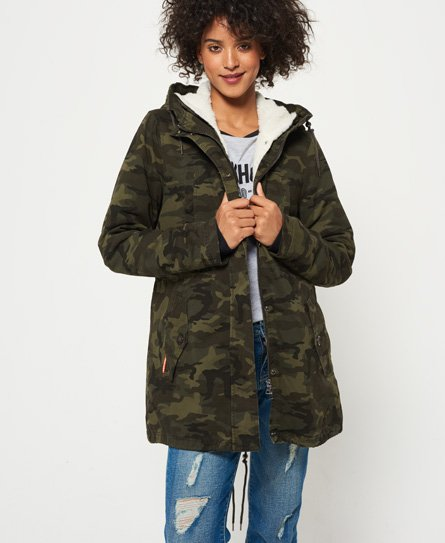 Superdry Veste Rookie Sherpa Multi
