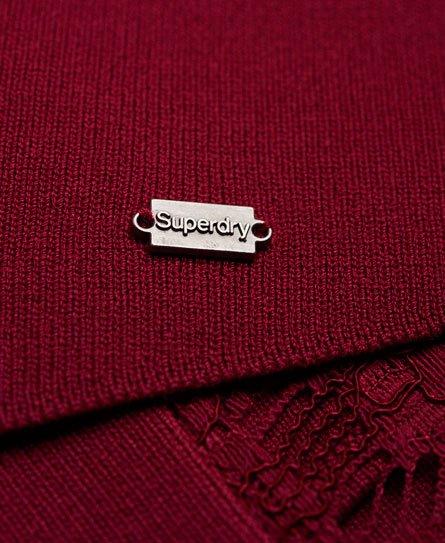 Superdry Alina Lace strikkekjole