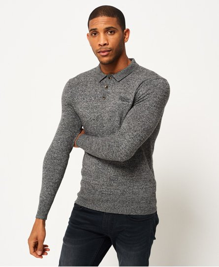 Orange Label Knit Polo Shirt