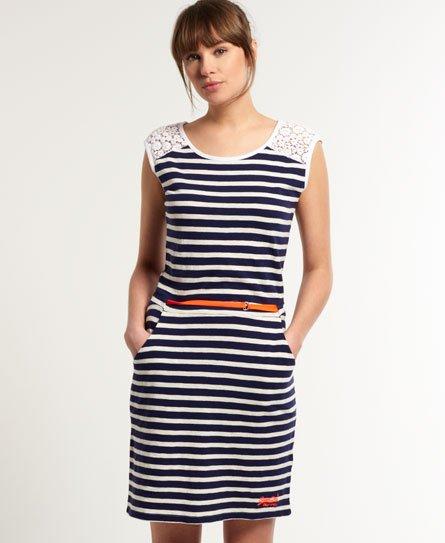 Superdry Colour Pop Breton jurk