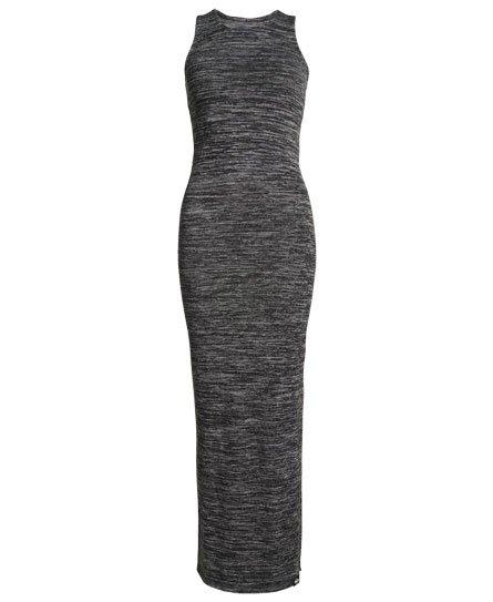 Superdry Robe longue fendue Essentials