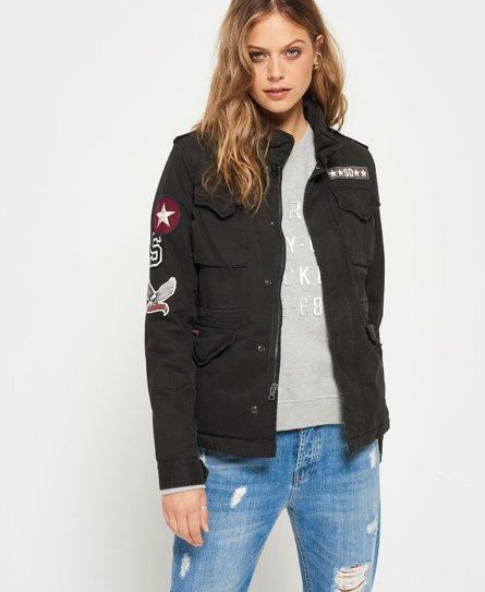 Winter Rookie Military Patch-jakke