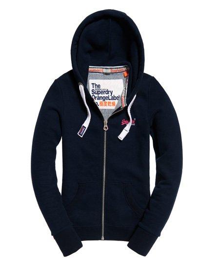 Superdry Orange Label Primary Zip hoodie