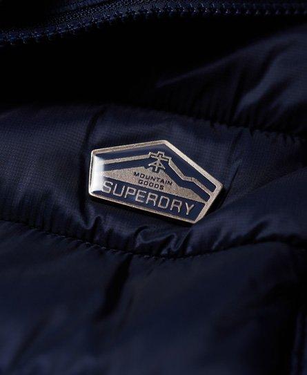 Superdry Luxe Fuji-vest med dobbel glidelås