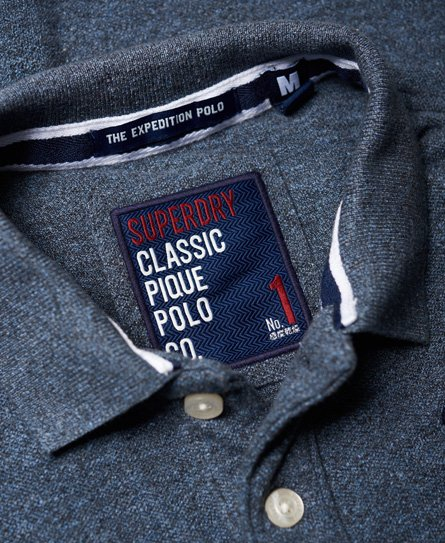 Superdry Classic Long Sleeve Expedition Polo Shirt