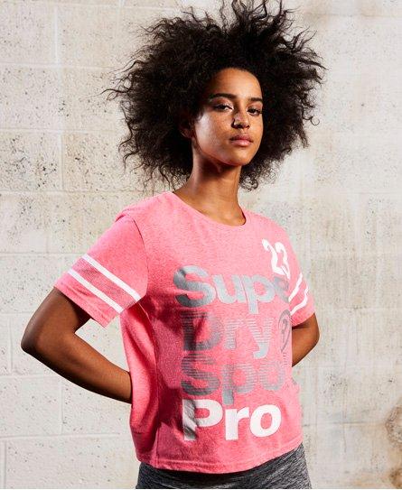 Superdry T-shirt séchage rapide Sport Pro