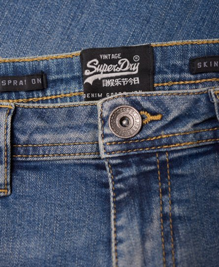 Superdry Spray-on skinny jeans