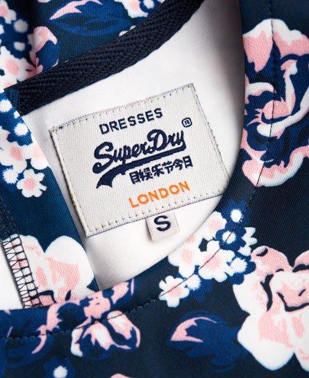 Superdry High Neck Scuba Print Dress