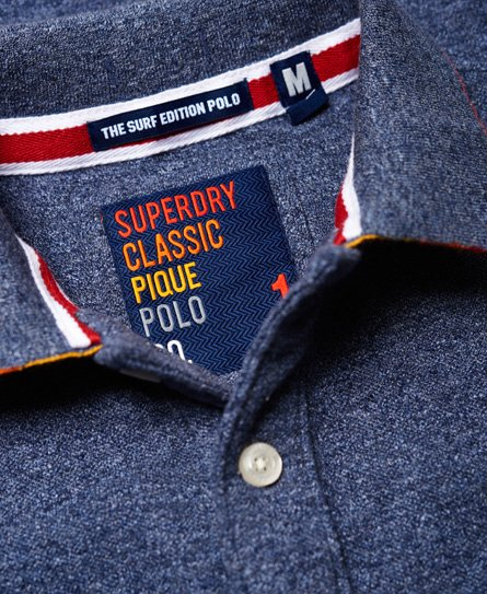 Superdry Polo en piqué Surf Edition